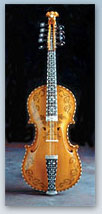 Hardanger fiddle by Ron Poast